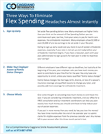 3 ways to eliminate flex spending headaches