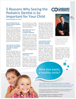 5 reasons why seeing a pediatric dentist is so important