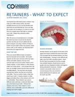 what to expect with retainers