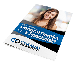 caggiano orthodontics when do you need a general dentist or a specialist